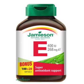 Jamieson Vitamín E 400 IU 120 cps