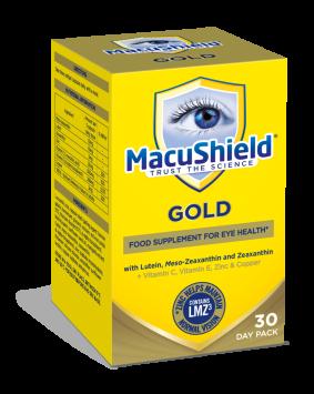 MacuShield GOLD pre unavené oči 90 kapsúl