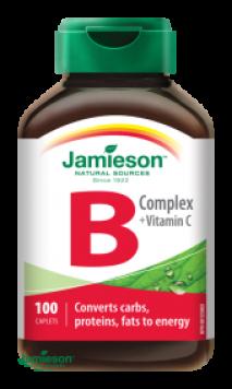 Jamieson B Complex + Vitamin C 100 tbl